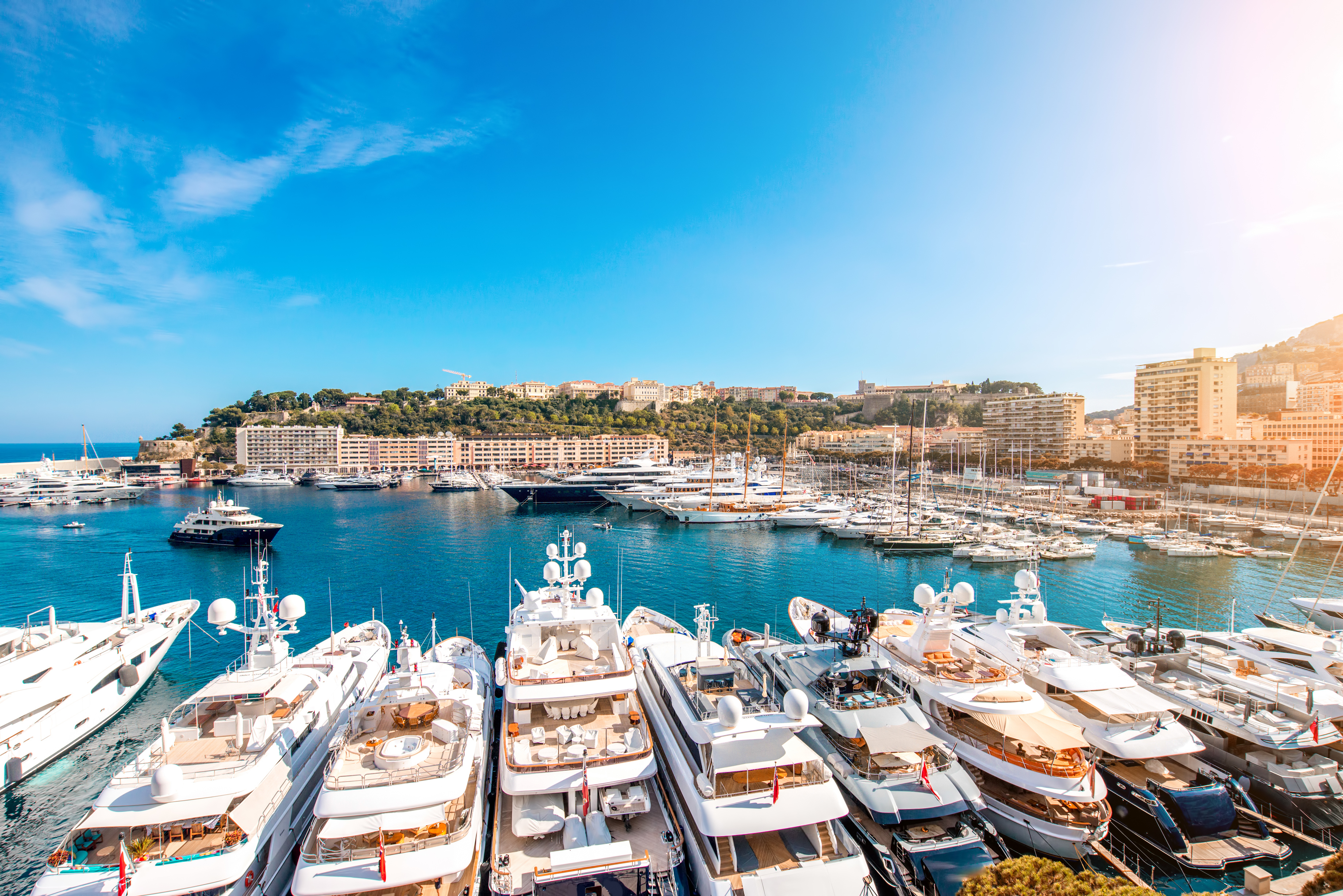 Streets of monaco superyacht